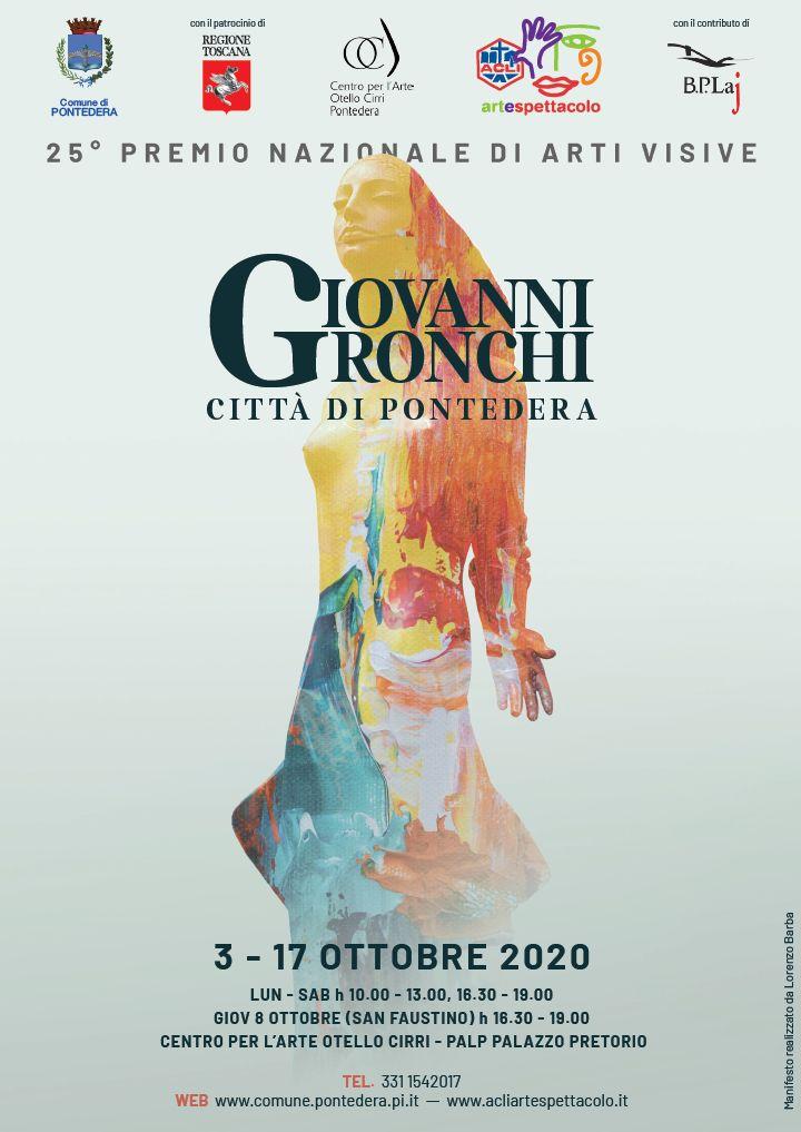 Manifesto Premio Gronchi 2020