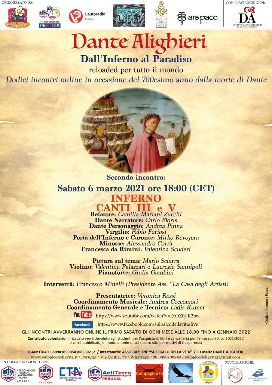 Dante con il patrocinio Società Dante